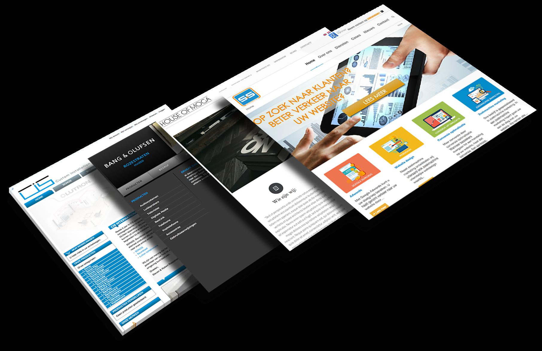 websites webdesign pagina